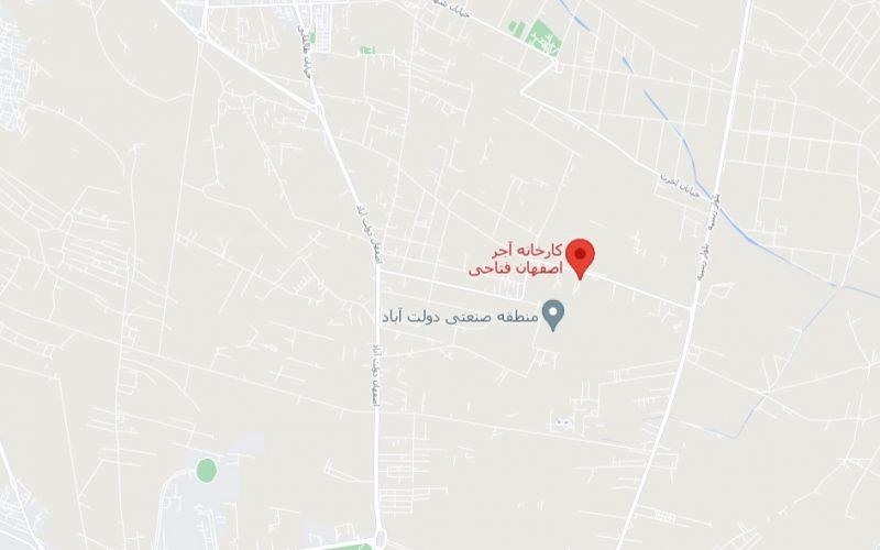 مکان آجر اصفهان